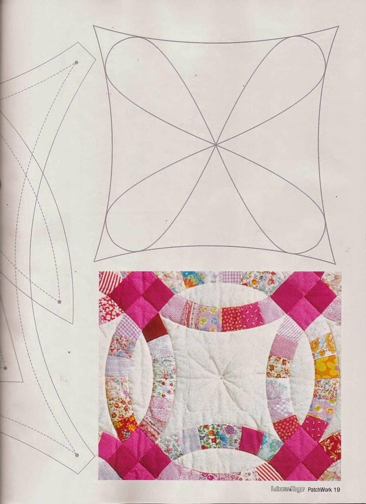 Como hacer colcha en patchwork revistas de manualidades - Como hacer pachwork ...