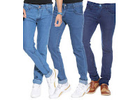 Assorted Branded Comfort Fit Denim Jeans( Pack of 3 ) at Rs 499 Via paytm:buytoearn