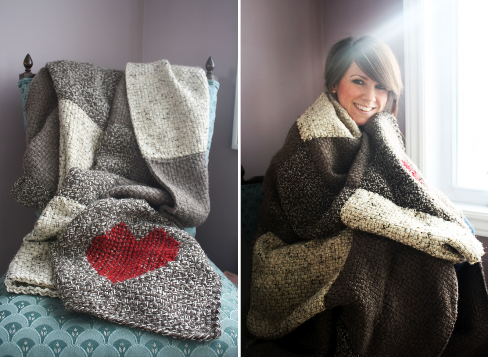 Red Heart Free Patterns Knitting : artisan des arts: Martha Stewart Knit and Weave Loom Kit
