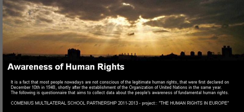 thesis on human rights awareness Information on the master's thesis of the master's program conflict studies and human rights at the humanities to hand in the plagiarism rules awareness.
