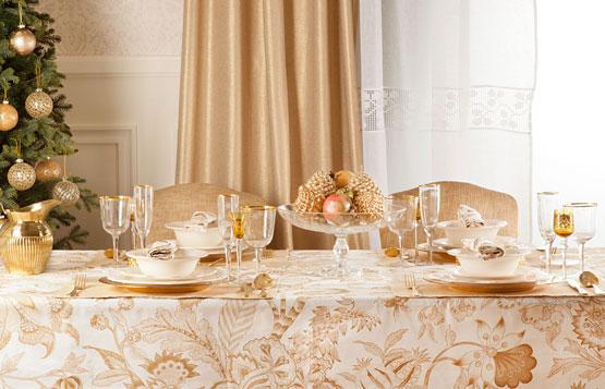 cómo decorar la mesa en Nochevieja