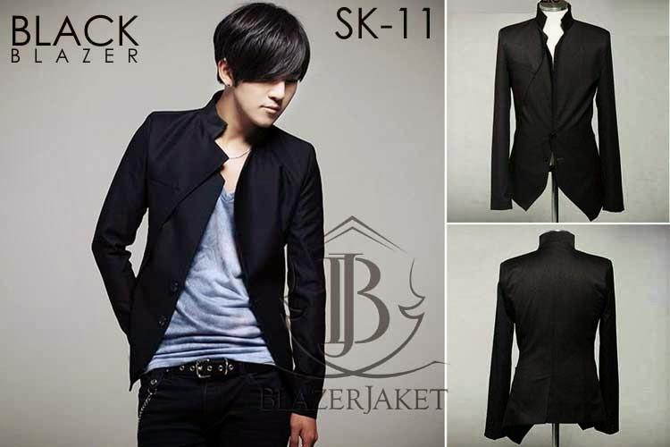 Black Blazer Jacket Korean Style blazerjaket blazerjaket.com