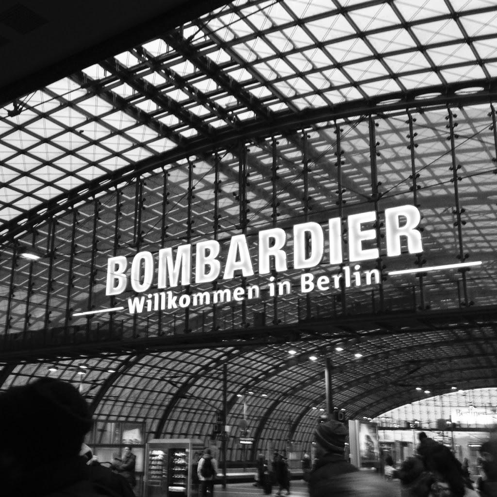 Berlin Central Train Station