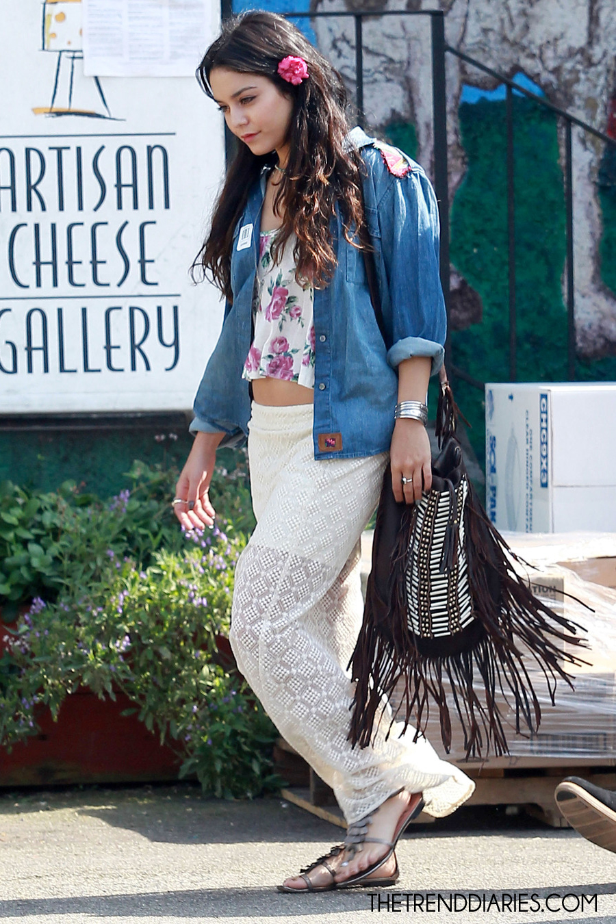 Vanessa Hudgens At The Artesian Cheese Gallery In Los Angeles California May 4 2012 The