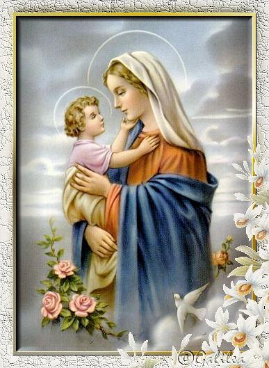 IMAGENES RELIGIOSAS Santa Mara Madre de Dios