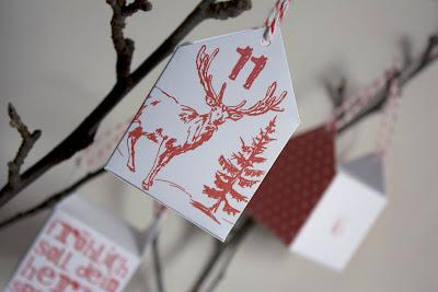 kalendarz adwentowy, zrób to sam, DIY, Boże Narodzenie, ikea, advent calendar, USA, free, do pobrania