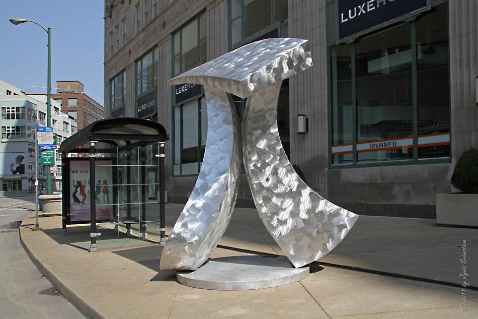 Public Art In Chicago Sculptural Installations Exhibits 2011