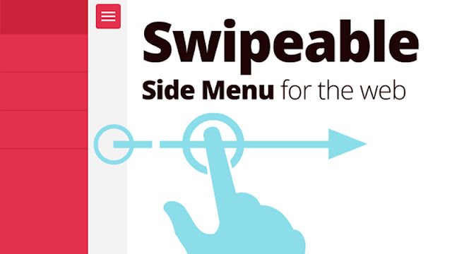 Creating a Swipeable Side Menu for the Web