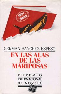 Libro En las alas de las mariposas, de Germán Sánchez Espeso - Cine de Escritor