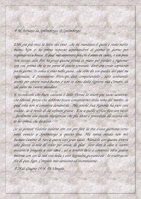 Di Vinegia a Spilimbergo:Lettera di Pietro Bembo ad Adriano da Spilimbergo 25 giugno 1538