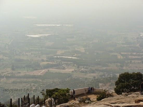 Tippu's Drop Nandi Hills Bangalore