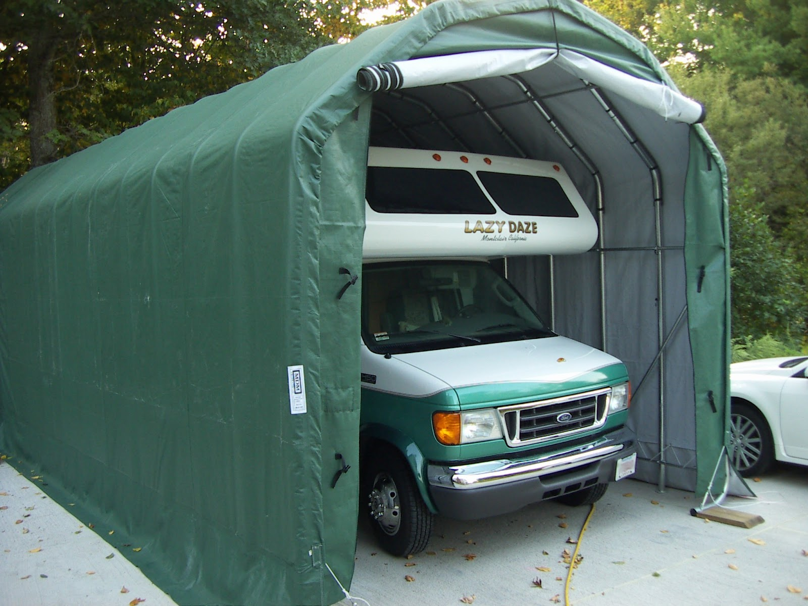 Portable garages and shelters - Costo porta garage ...