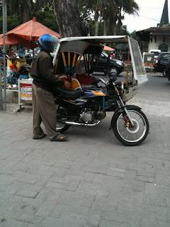 Becak Motor Aceh