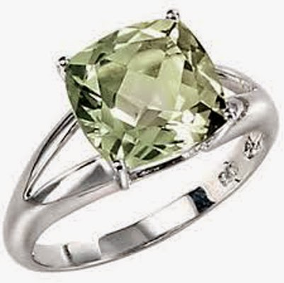 Green Amethyst - PRASIOLITE - Properties as well as Meaning