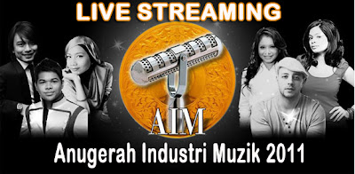 LIVE+STREAMING+AIM+18+ANUGERAH+INDUSTRI+MUZIK+2011