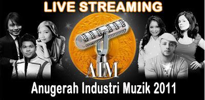 LIVE+STREAMING+AIM+18+ANUGERAH+INDUSTRI+MUZIK+2011