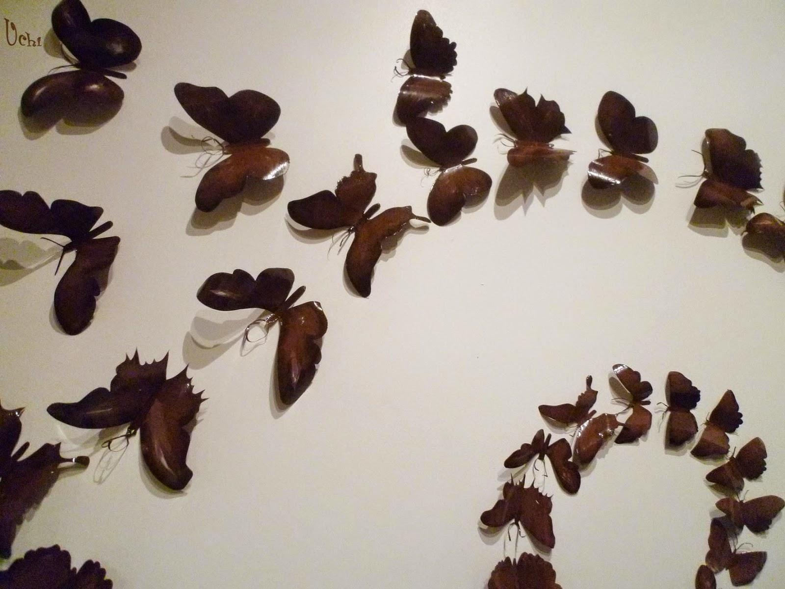 Reciclaje, tutorial, mariposas