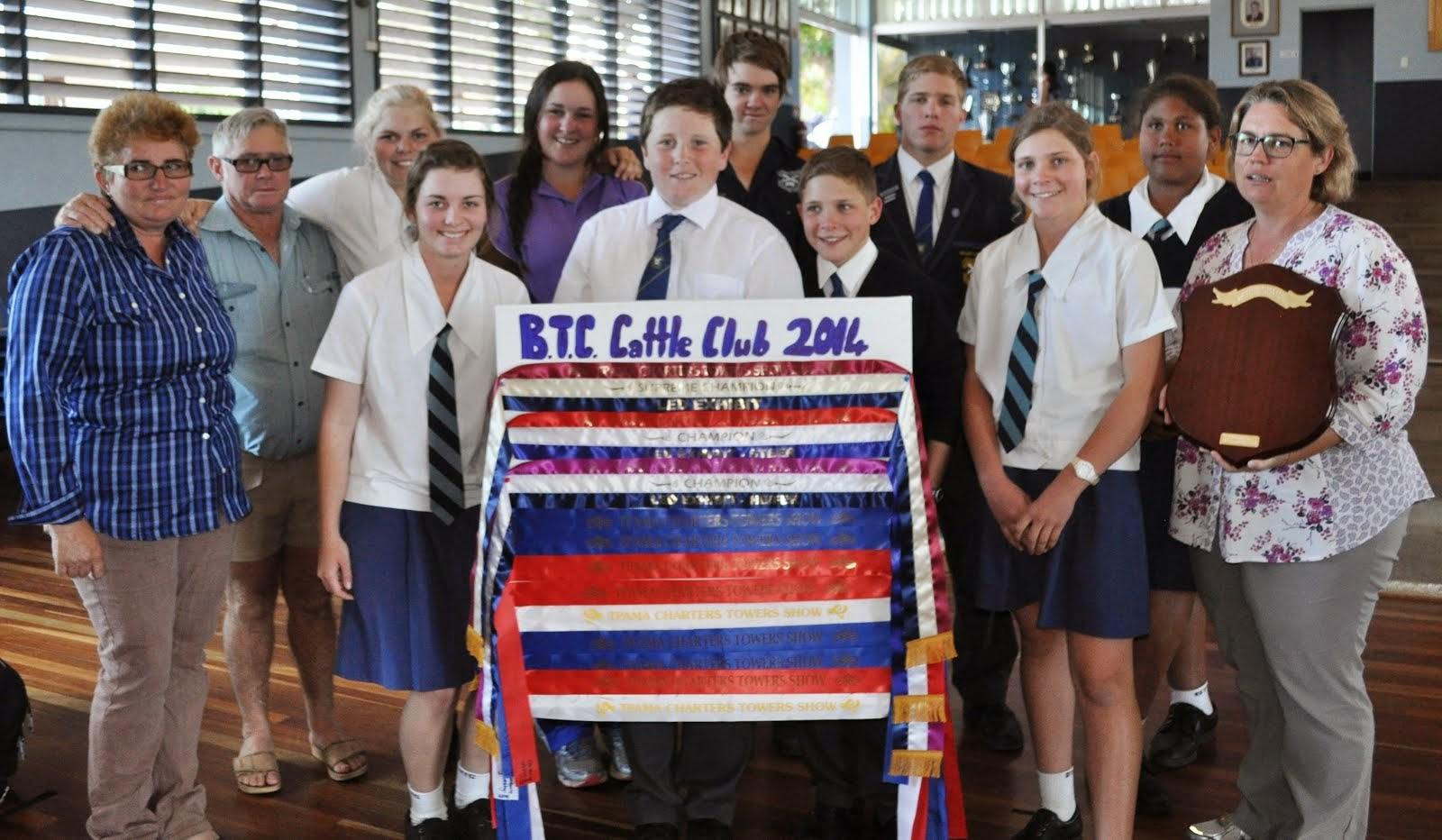 Cattle Club Success at Charters Towers Show
