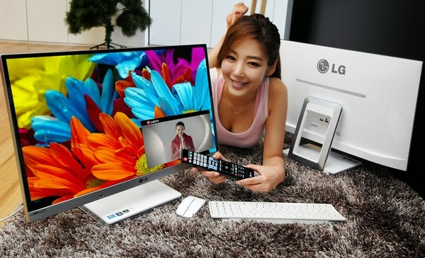шикарный дизайн моноблока LG V720