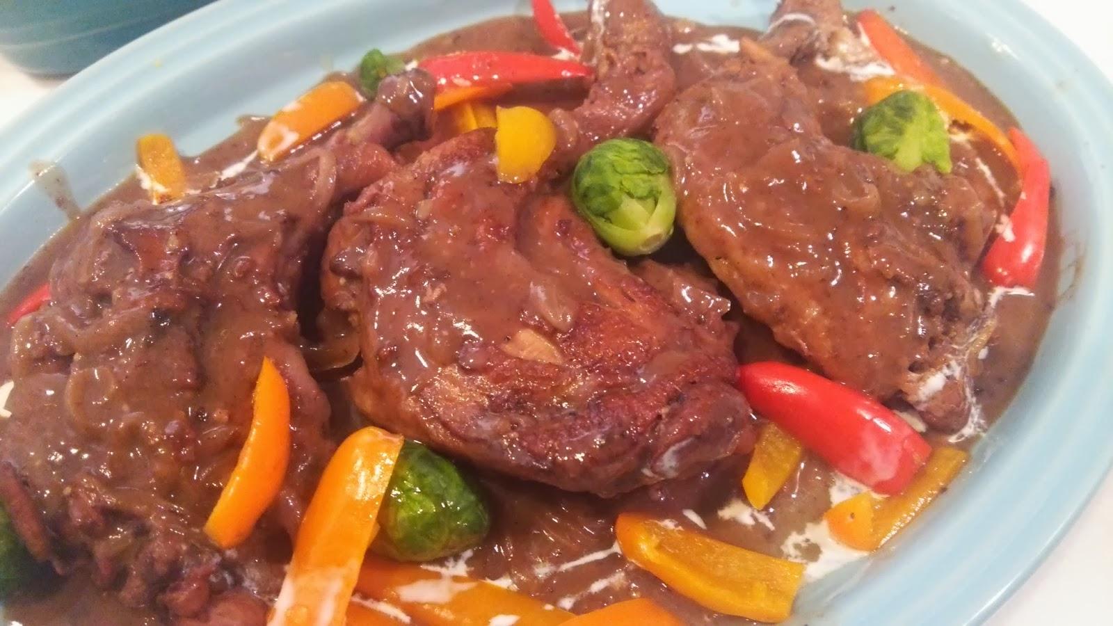 埼玉(さいたま市)の自宅に出張シェフ:コックオーヴァン 骨付き鶏股肉の赤ワイン煮