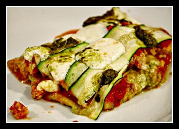 lasagne di zucchine (clicca e condividi)