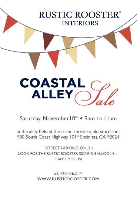 coastal alley sale
