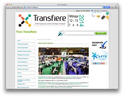 Web Foro Transfiere