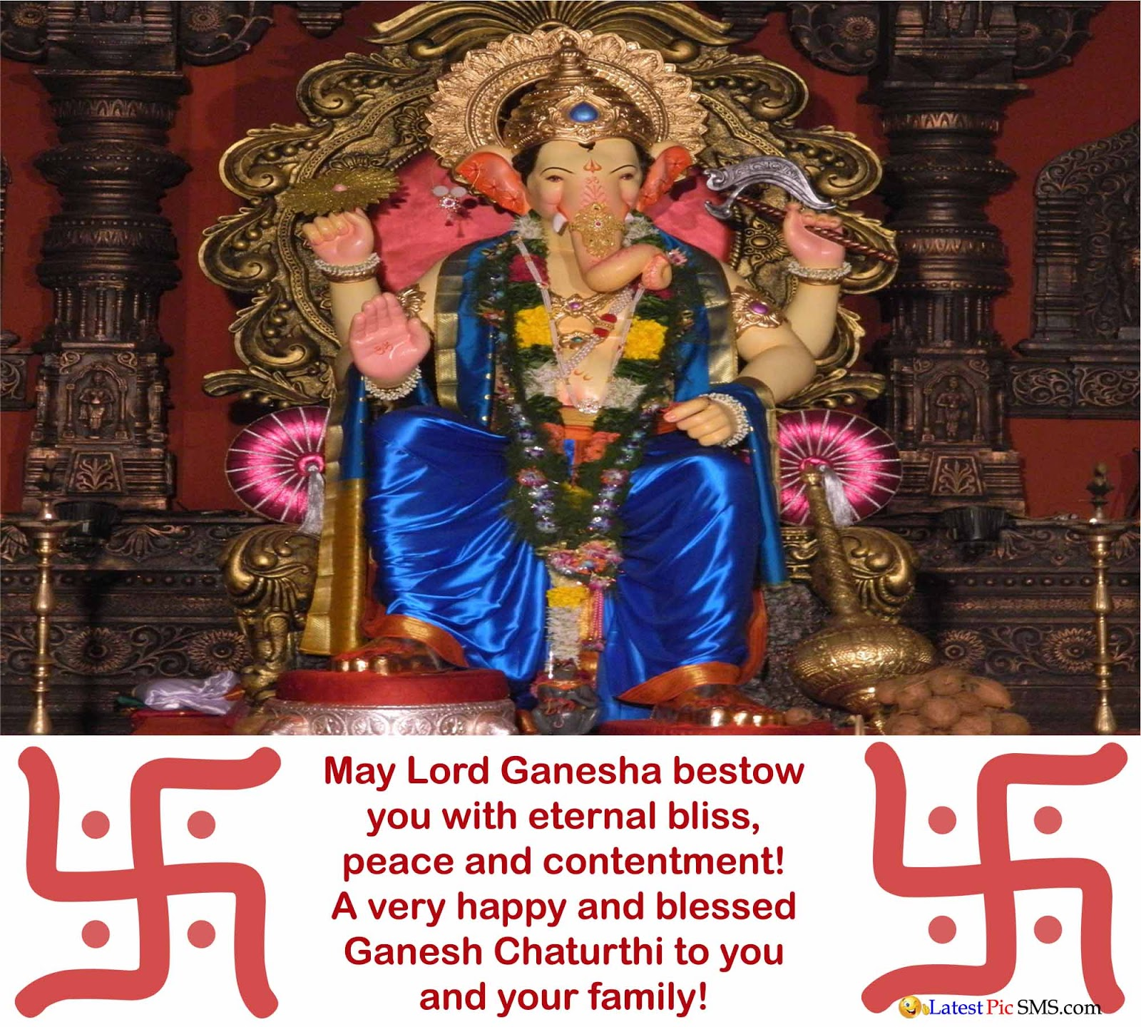 special wishes on ganesh chaturthi photos