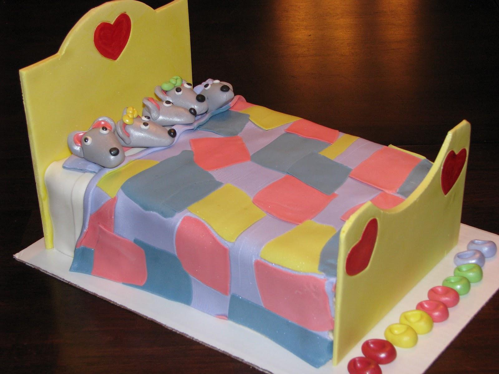 Bake Me A Cake Slumber Party Cake