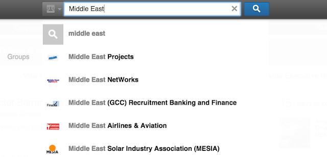 como encontrar trabajo en Arabia Saudita usando LinkedIn