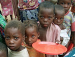Many children in the world are starving.