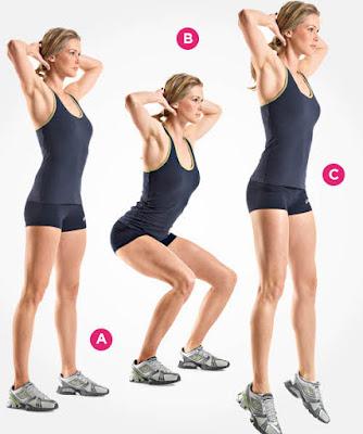 Olahraga melompat (Squad jump) mampu meningkatkan tinggi badan
