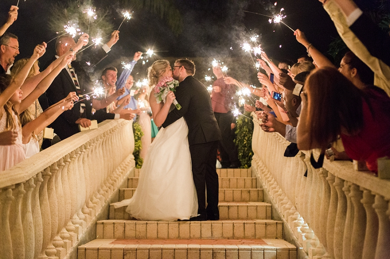 best sparkler exit photos