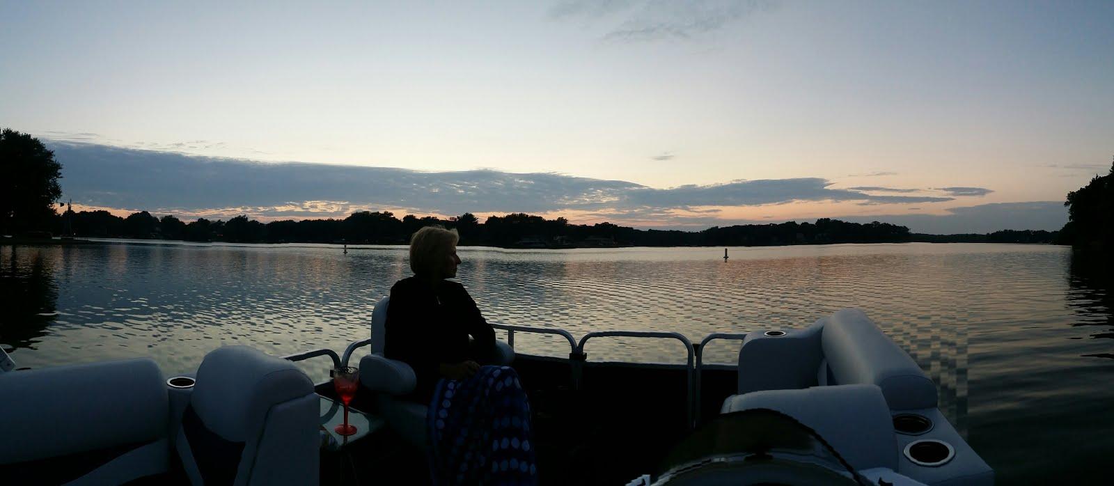 Lake Dalecarlia Sunset