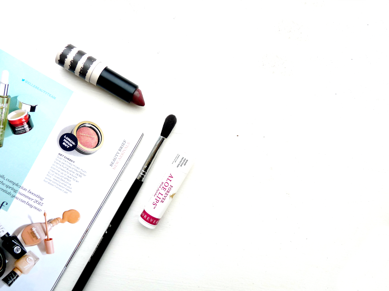 February Beauty Favourites topshop lipstick boardroom forever aloe lip balm sigma beauty E40 review