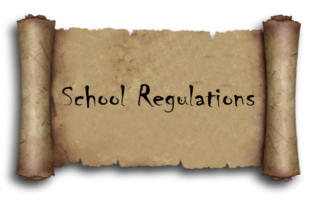 †School Regulations†