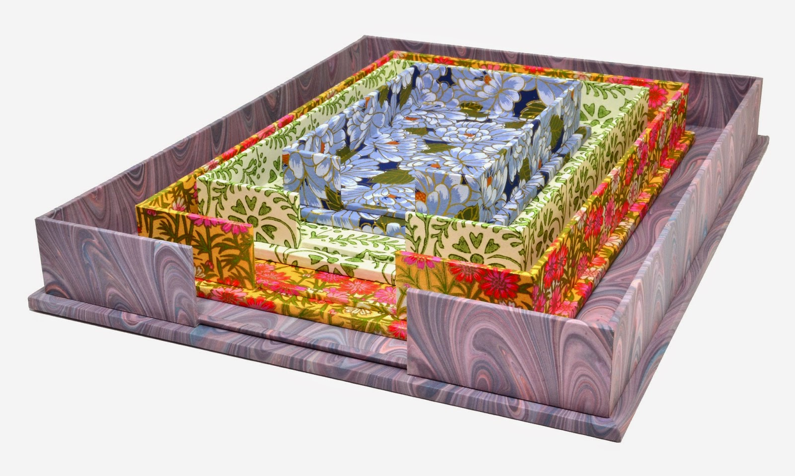 Paper Trays by Parvum Opus