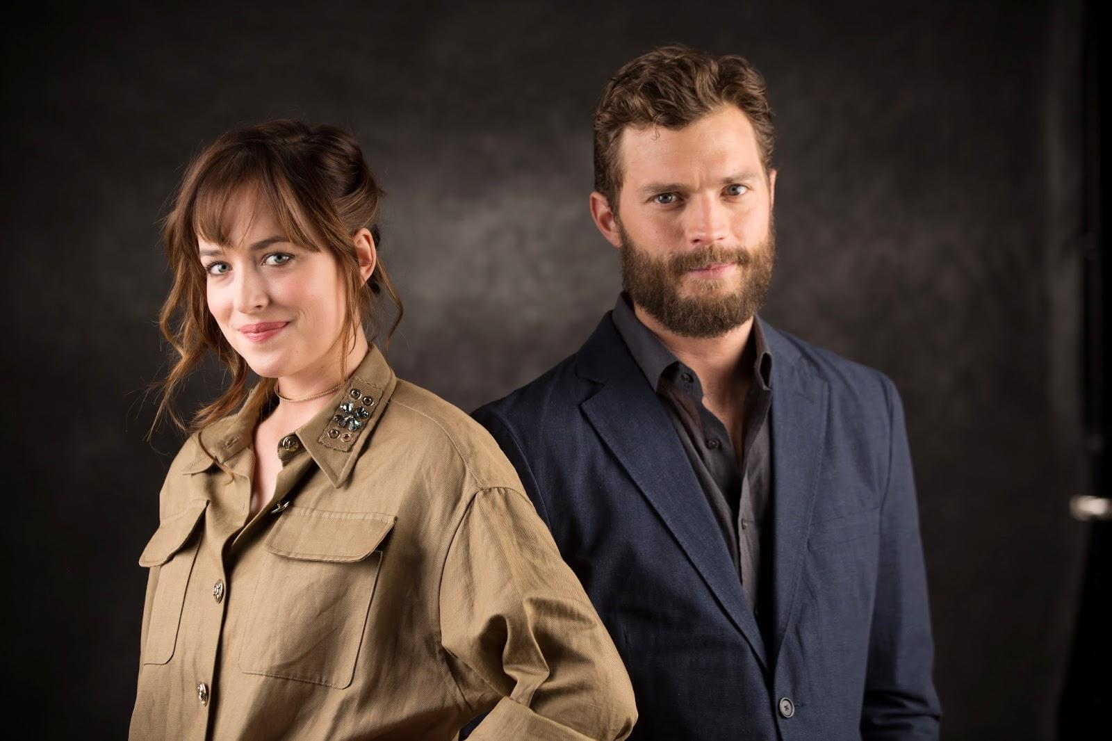 Fifty Shades Updates: HQ PHOTOS: Dakota Johnson and Jamie ...