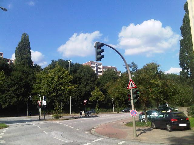 Borgfelder Straße hochgeschaut - Hamburg