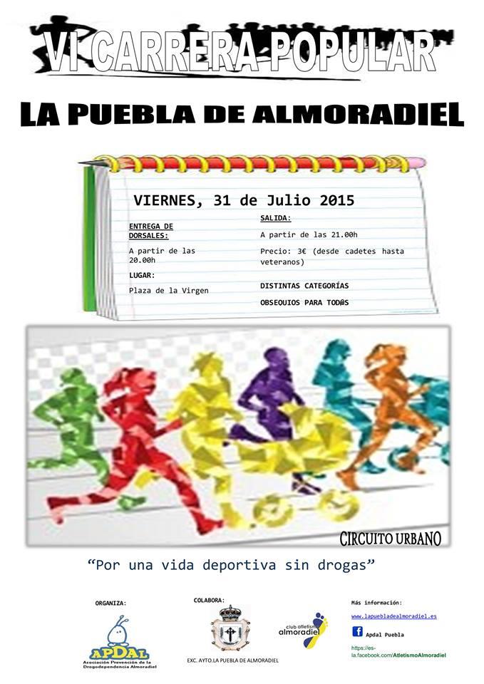 VI Carrera Popular de La Puebla de Almoradiel