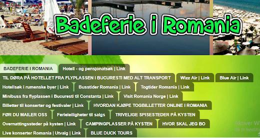 Spesialside for deg som vil nyte sommeren på den rumenske riviera