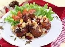 Ayam Panggang Saus Apel Berry