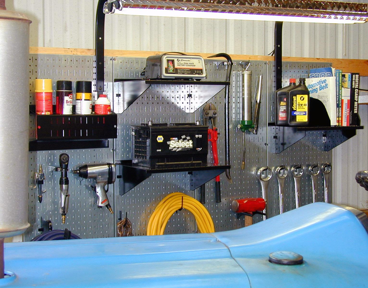 Industrial Metal Pegboard U2013 Heavy Duty Tool Storage U0026 Organization