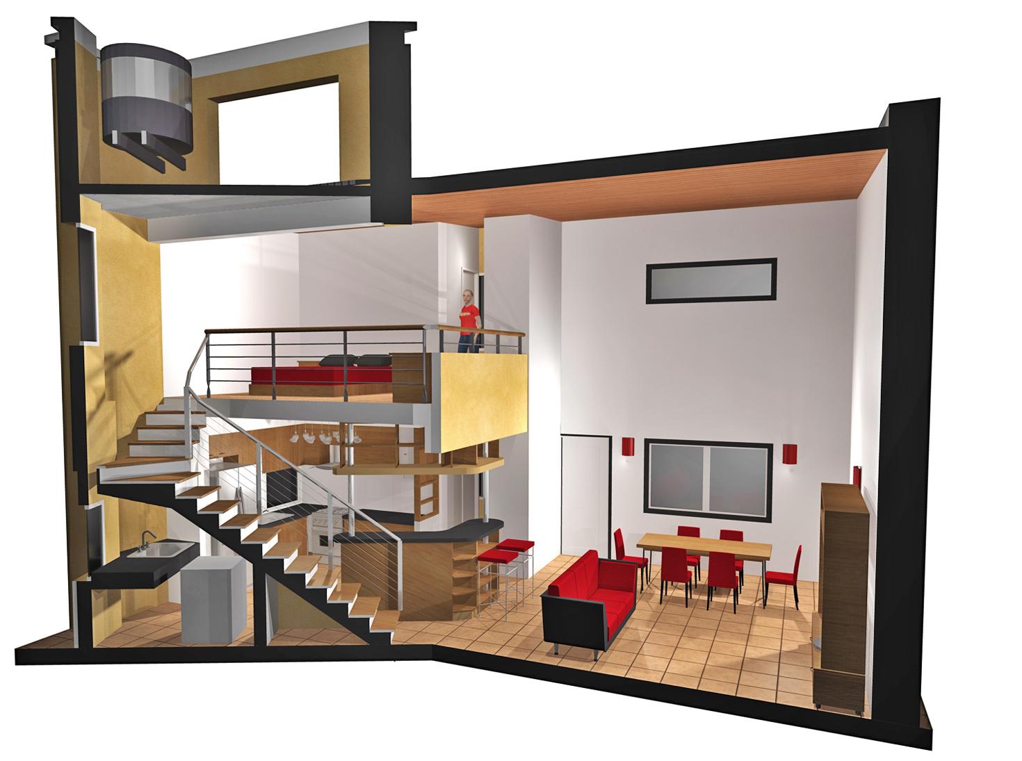 Arquitectura y dise o 2011 casa tipo loft for Casas loft diseno