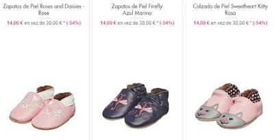 zapatos piel bebés