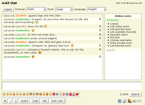 Free private chat room software