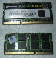 SODIM DDR3 8GB Second