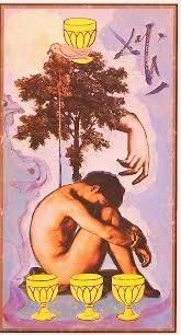 Cuatro de Copas- Tarot Dalí
