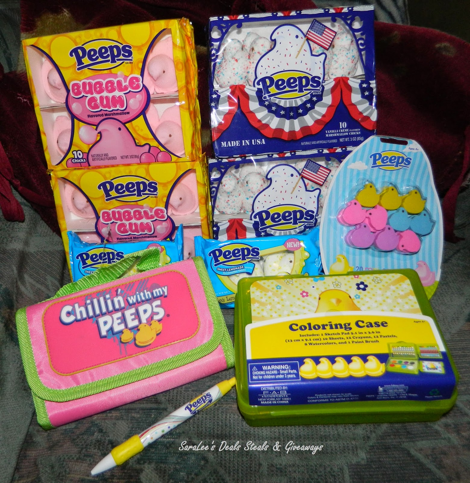 Enter the Back to School with PEEPS Giveaway. Ends 8/25.