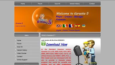 Karaoke 5, Karaoke Software